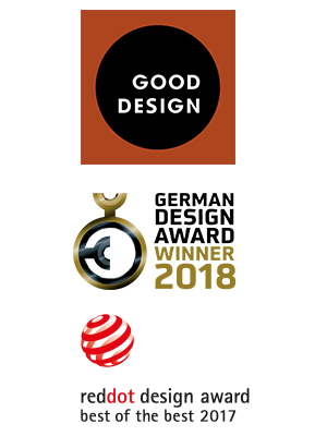 German Design Award 2018, Red Dot Award Best of the Best 2017